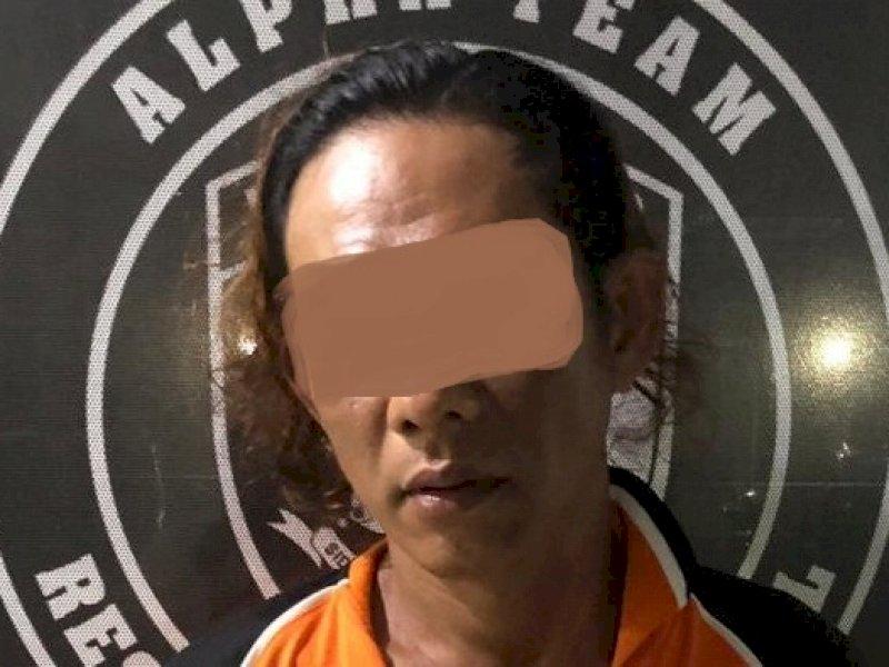 """""""Janganki Bonceng Tiga,"""" Tak Terima Ditegur, Pria di Makassar Tikam Polisi"""