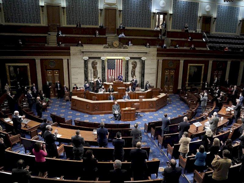 Pertemuan Kongres AS Dilanjutkan Kembali, Begini Prosesnya!