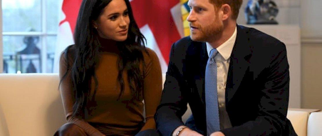 Pangeran Harry dan istrinya Meghan Markle