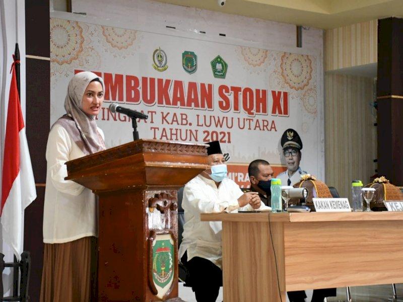 STQH XI Resmi Dibuka Bupati Indah Putri Indriani