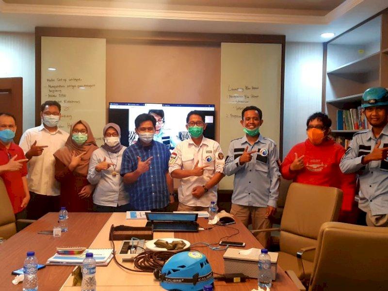 Tim Blue Helmet Terjunkan Phinisi Kemanusiaan untuk Bantu Nusa Tenggara