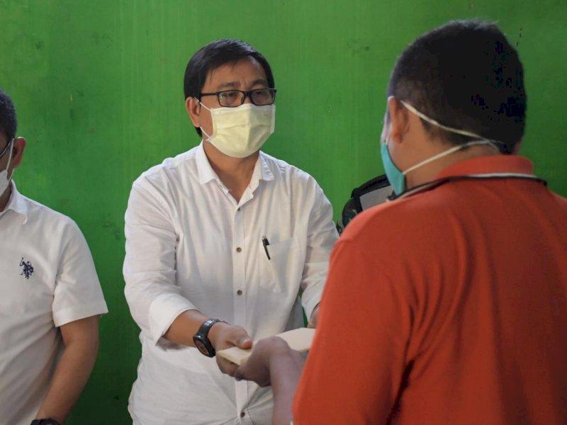 Korban Bencana Angin Puting Beliung di Mappedeceng Terima Bantuan Rp46,2 Juta