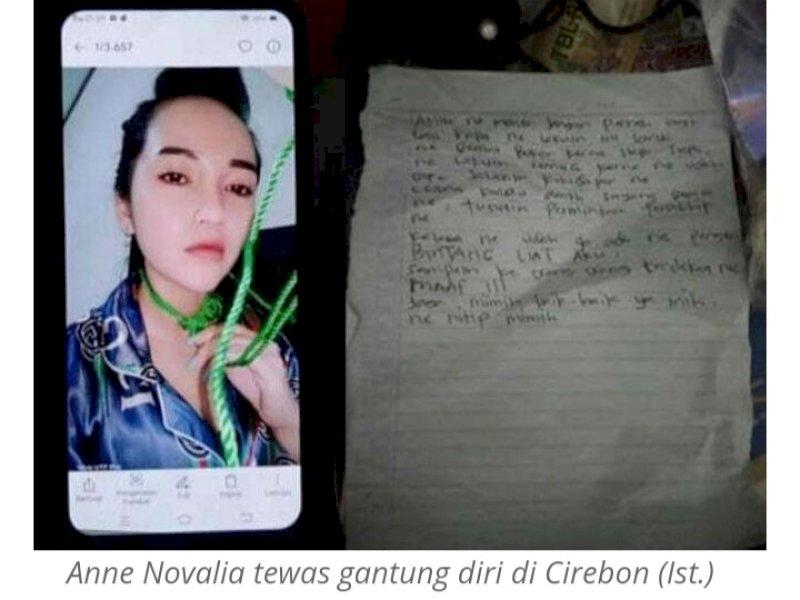 Sebelum Tewas Gantung Diri, Janda Cantik Ini Foto Selfie dengan Tali Jemuran, Juga Tinggalkan Surat