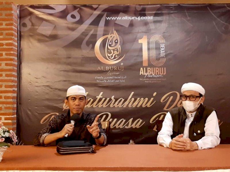 Alburuj Buka Puasa Bersama Jamaah, Akrama Hatta: Asah Berumroh di Bulan Suci Ramadhan