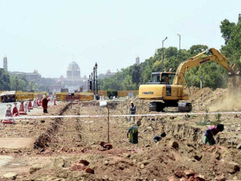 India Teruskan Renovasi Parlemen Ketika Negara itu Tak Berdaya oleh Covid