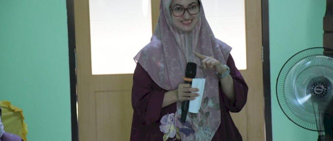 Bupati Luwu Utara, Indah Putri Indriani, me-launching Fasilitas Rumah Tinggal bagi Ibu Nifas di Rumah Sakit Umum Daerah (RSUD) Andi Djemma, Masamba, Sabtu (8/5/2021).