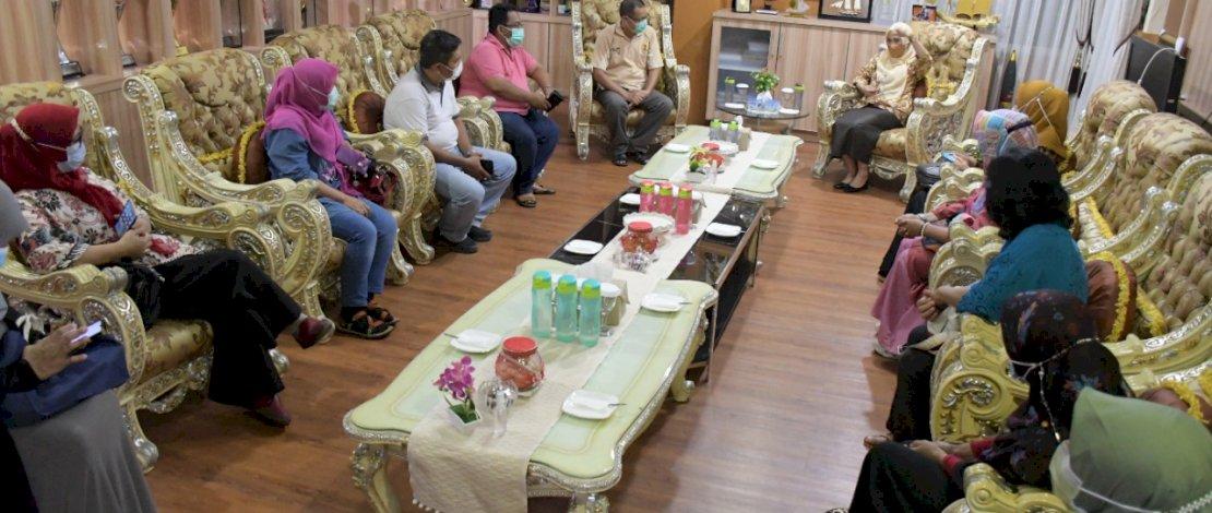 Tim ODF Pemkab Lutra bertemu Pemkab Lutra.