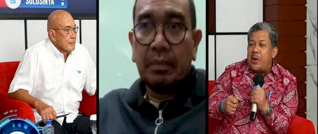 Fahri Hamzah dalam Gelora Talks.