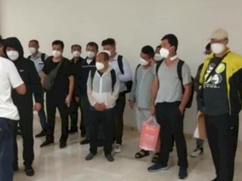 Hasil Investigasi Awal, 46 TKA Cina yang Masuk Sulsel Belum Kantongi IMTA