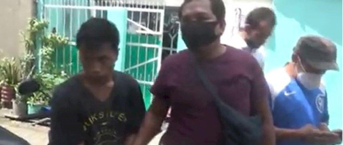 Penangkapan para pelaku pembunuhan terhadap Haidir Ali.