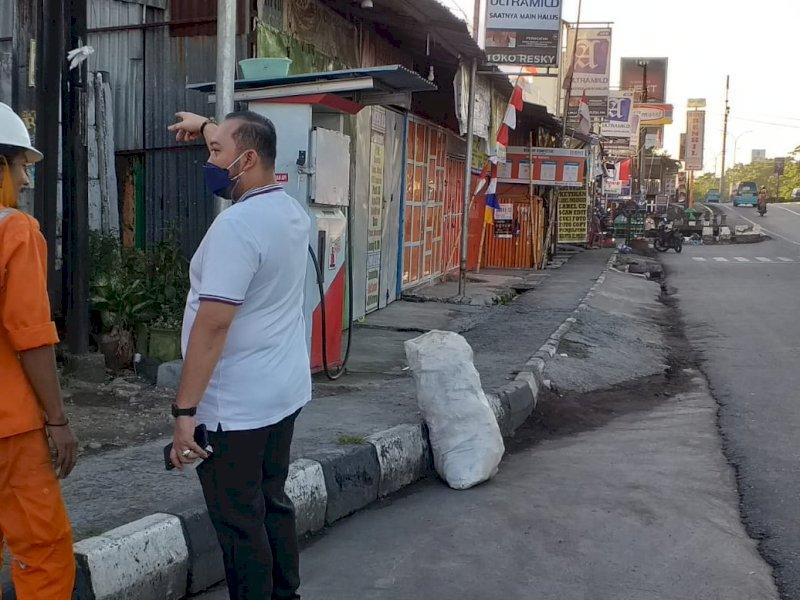 Pantau Aktivitas Petugas Kebersihan, Begini Arahan Camat Panakkukang