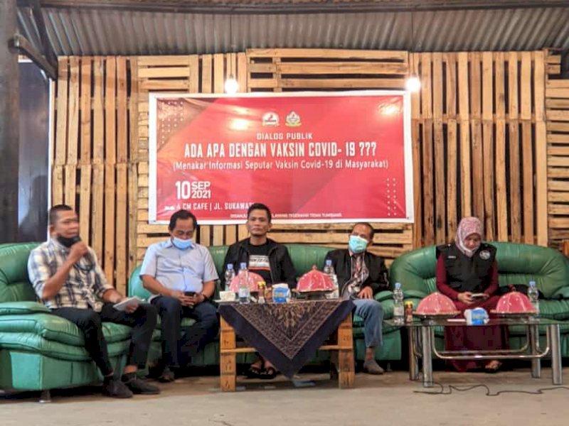 Menakar Informasi Seputaran Vaksin di Masyarakat, Pemuda IPMP Lamappatunru Kab Bone Gelar Diskusi