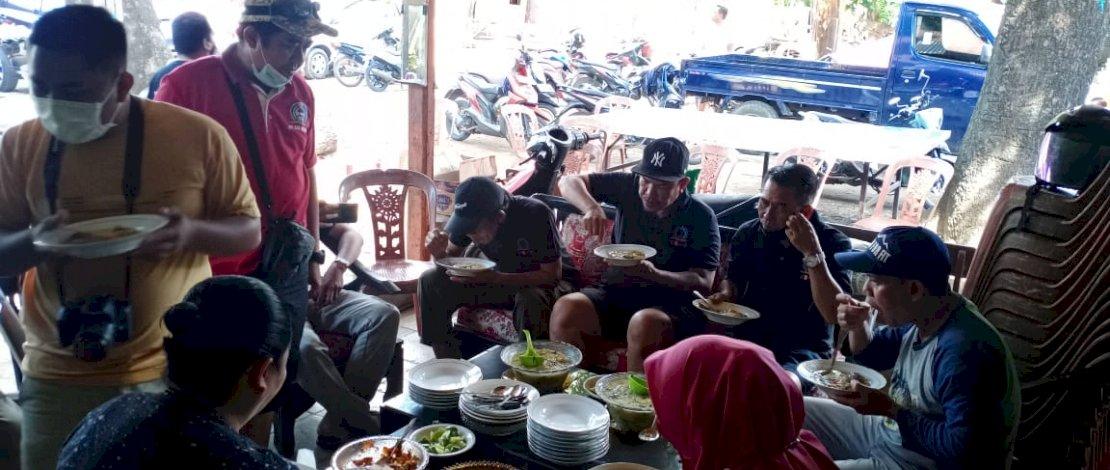 Acara bersih-bersih di Kelurahan Suangga, Kecamatan Tallo, Kota Makassar, Sabtu, 18 September 2021.