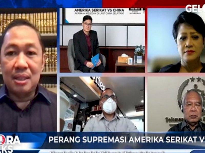 Anis Matta: Indonesia Harus Punya Skenario Sendiri Hadapi Perang Supremasi AS-China di Laut China Selatan