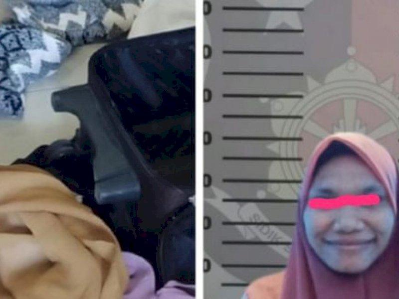 Curi Pakaian Majikan, ART di Makassar Ditangkap Polsek Manggala