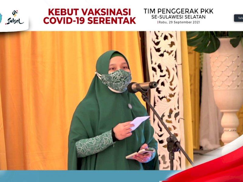 Catat! Tim Penggerak PKK Sulsel Siapkan Hadiah Istimewa Bagi Cakupan Vaksinasi Terbaik