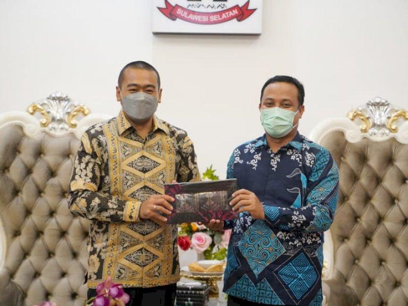 Temui Andi Sudirman Sulaiman, Wakil Gubernur Sumatera Barat Ajak Kerjasama di Bidang Pariwisata