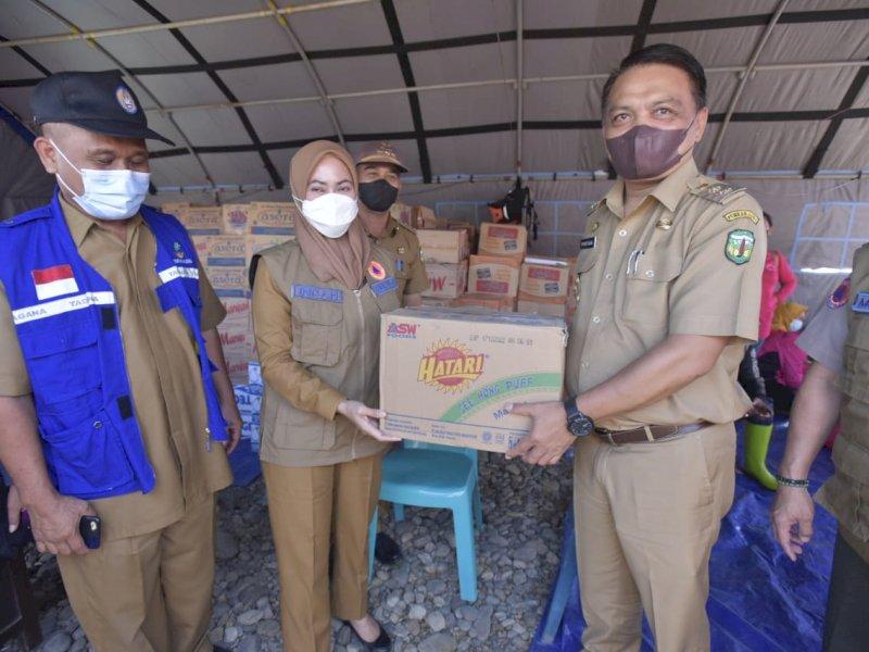 Bantu Korban Banjir, Bupati Luwu Utara Bawa Dapur Umum plus Personil ke Walmas