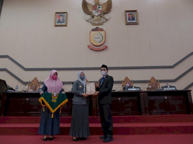 Anggota DPRD Makassar Teruskan Aspirasi Warga dalam Rapat Paripurna