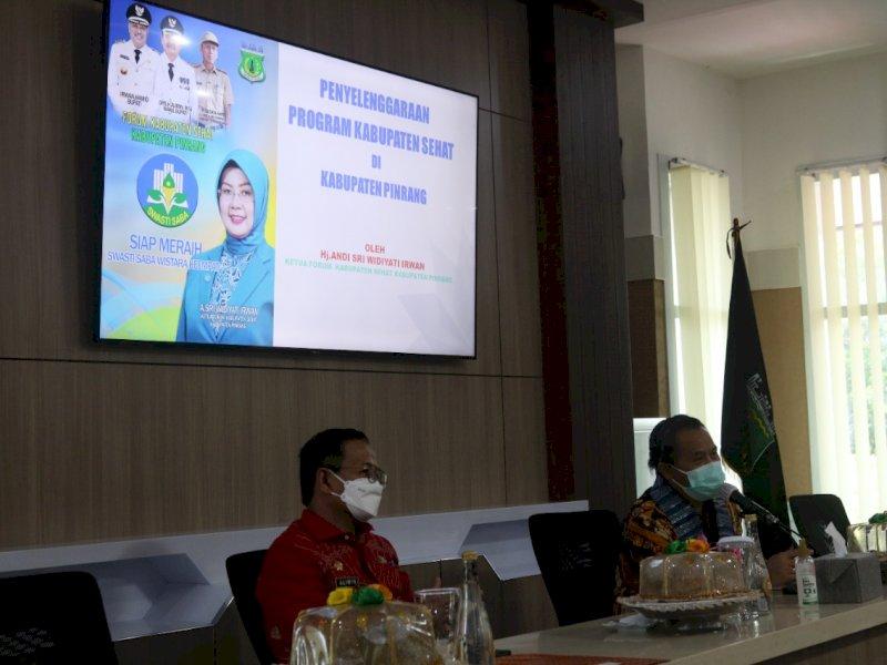 Tim Verifikasi Kabupaten Sehat Cek Kesiapan Pemkab Pinrang