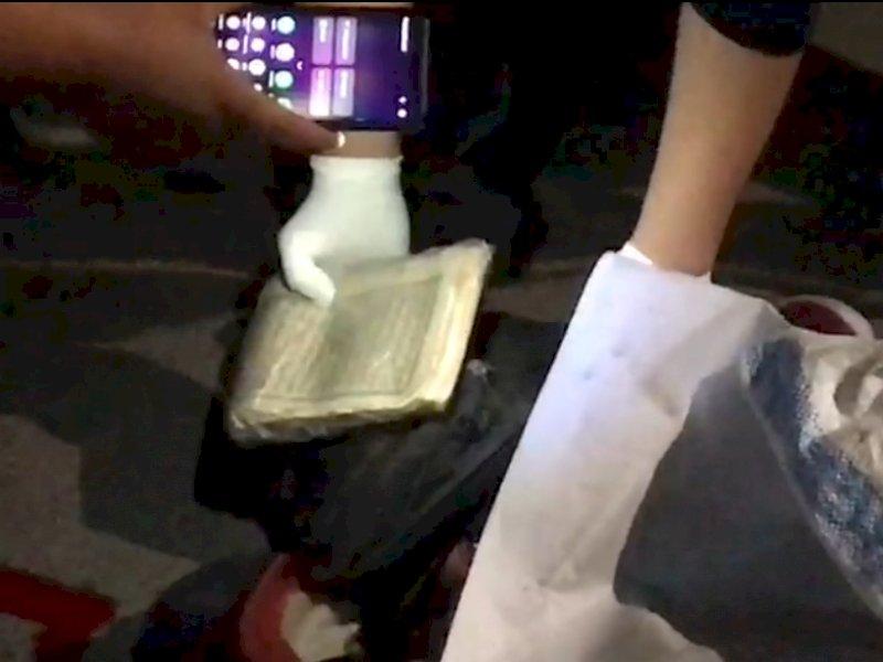 Dalam Tas Korban Duel Maut di Jl Veteran Makassar, Ditemukan Al-Qur'an Terbungkus Plastik