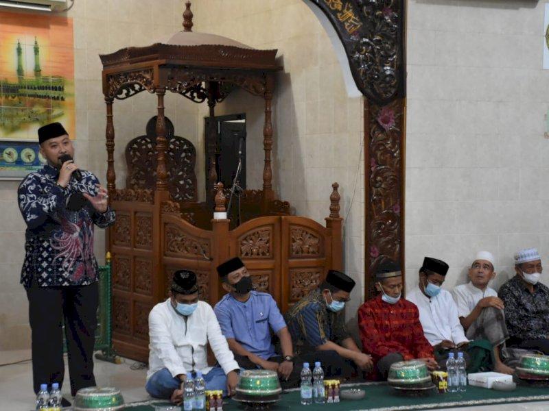 Di Acara Maulid, Camat Panakkukang Kembali Serukan Warga Taati Protkes dan Sukseskan Program Vaksinasi Pemkot Makassar
