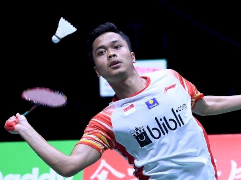 Anthony Ginting Raih Gelar Juara Indonesia Masters 2020