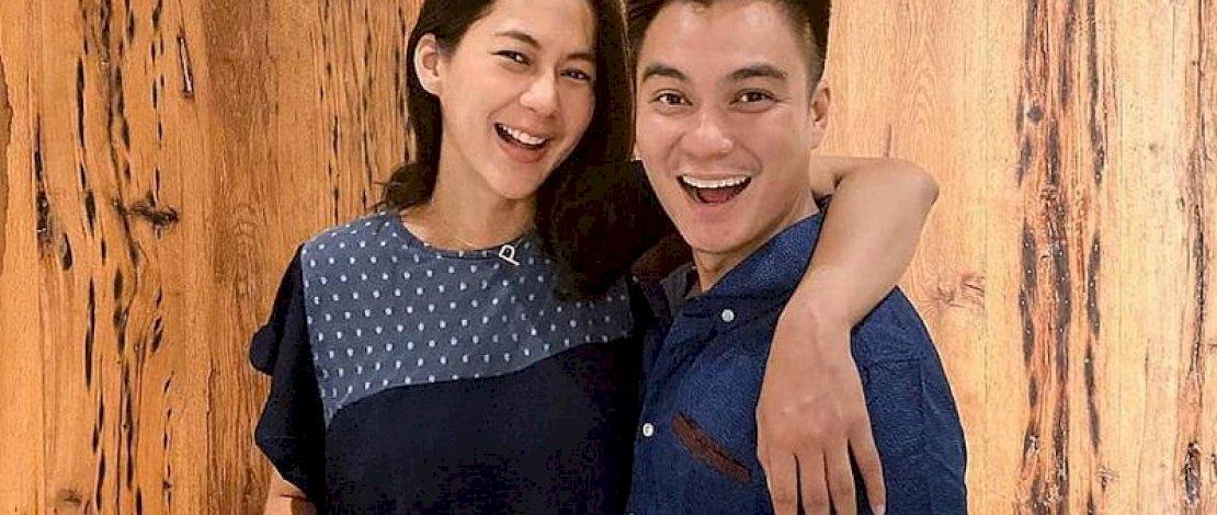 Baim Wong dan Paula Verhouven.