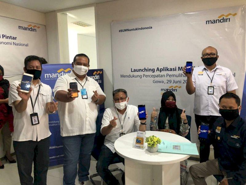 Dorong UMKM, Bank Mandiri Luncurkan Aplikasi Mandiri Pintar