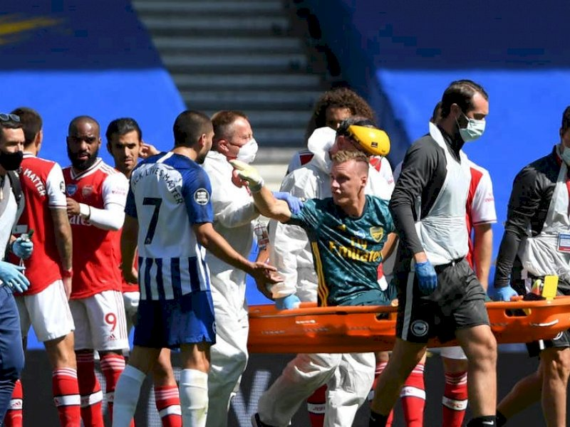Kalah dari Brighton, Arsenal Terancam Degradasi
