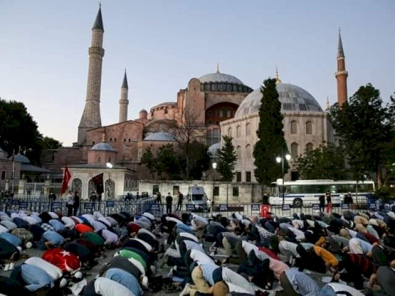 Erdogan Kembalikan Hagia Sophia, Anis Matta: Itu Pesan Determinasi Geopolitik Turki