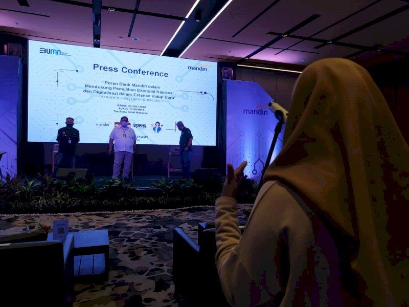 Peran Bank Mandiri Dukung Pemulihan Ekonomi Nasional dan Digitalisasi dalam Tatanan Hidup Baru