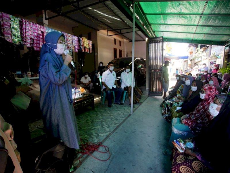Bangkitkan Ekonomi, Melinda Aksa sebut Appi-Rahman Akan Bangun Gerai dan Pasar UMKM di Setiap RW