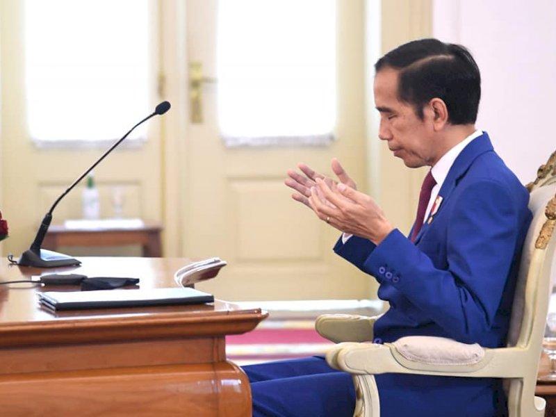 Jokowi Soal Ekonomi Terancam Krisis: Ngeri!