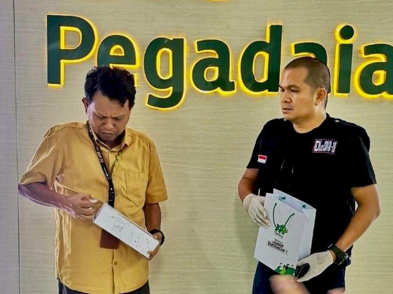 Pegadaian Salurkan Bantuan Ke Satgas IDI Makassar Tanggap Corona