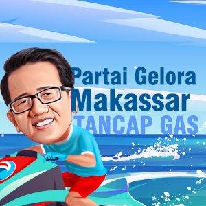 Partai Gelora Makassar Tancap Gas