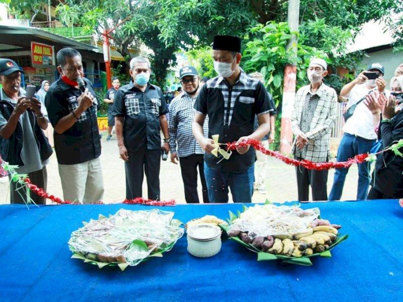 Fadli Ananda Resmikan Posko Kemenangan Dilan di Biringkanaya