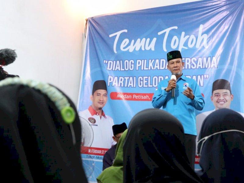 Dialog Partai Gelora Medan, Warga Sekip Curhat Soal Air Bersih hingga Banjir
